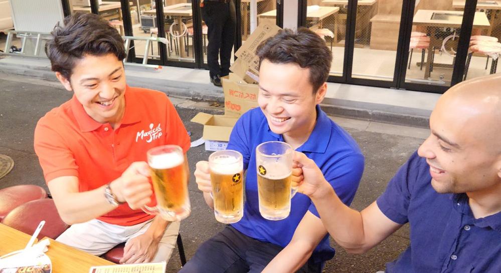 Asakusa Bar Hopping Tour through Nakamise Shopping Street